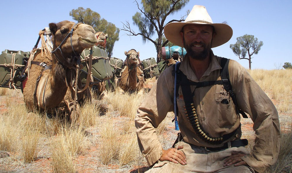 Camel Expedition Russell Osborne