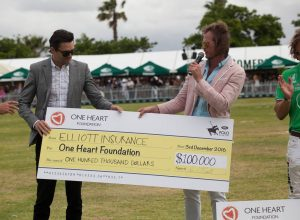One Heart Polo Cheque