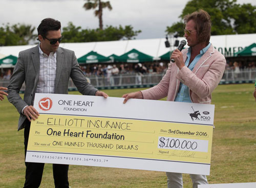 One Heart Polo Cheque