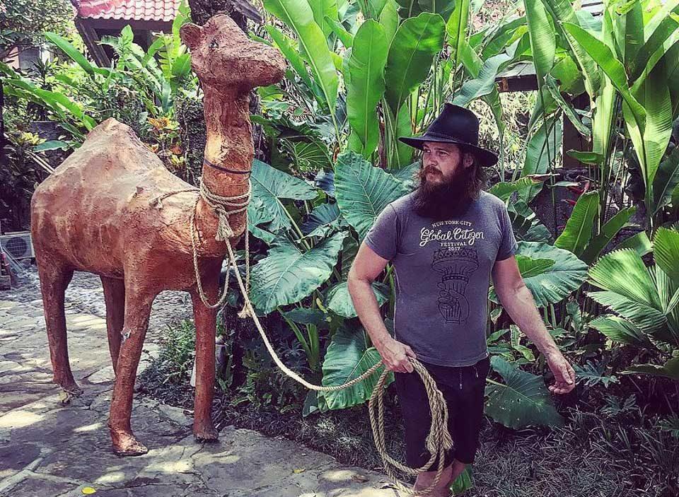 John with camel stone
