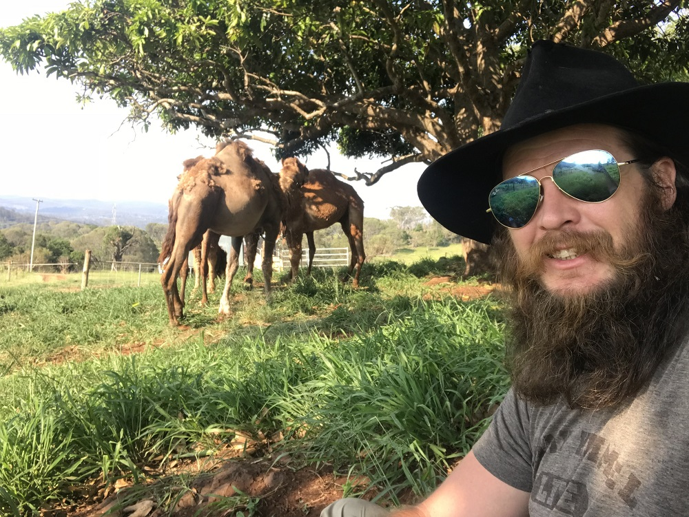 John With Camels
