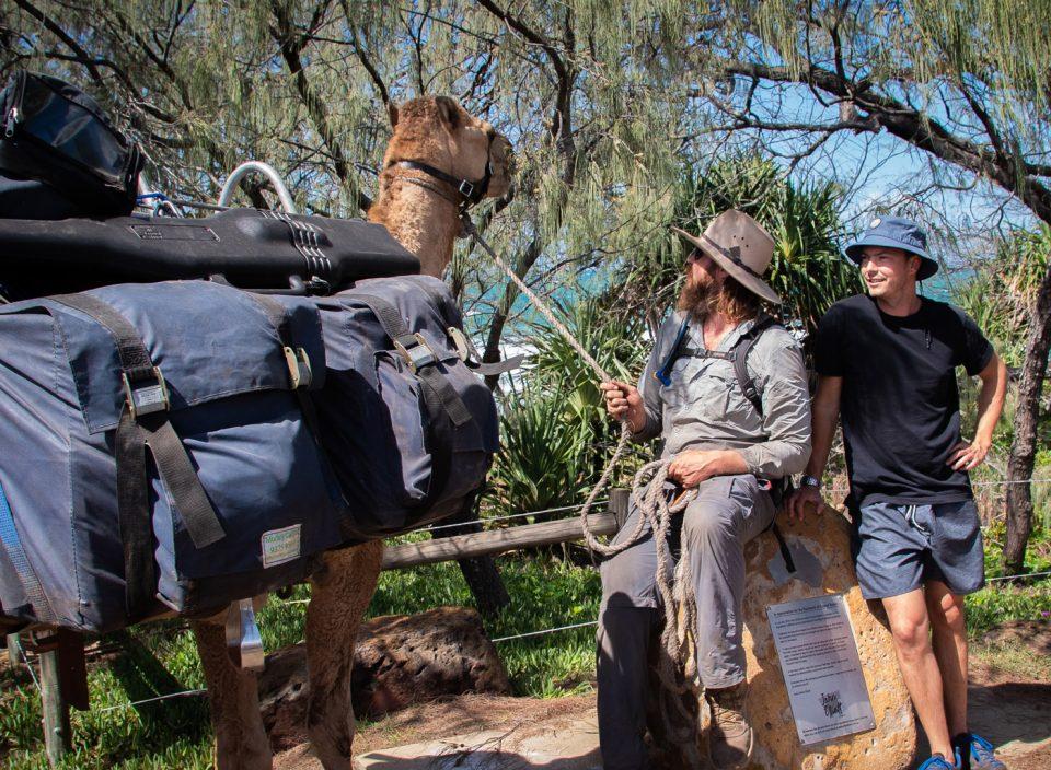 John and camel